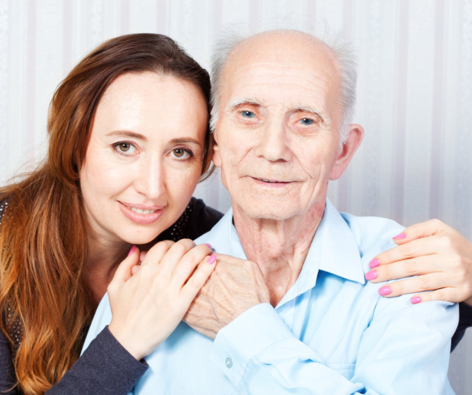 Caregiver and the old man